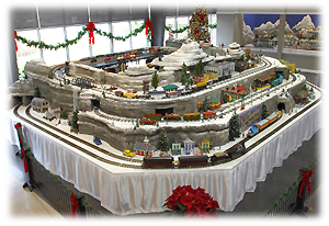 E. Desmond Lee Holiday Train Display